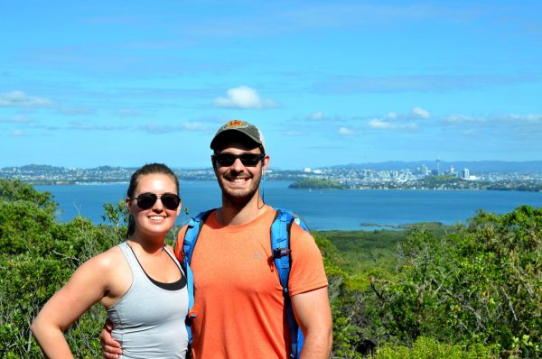 Hiking the Rangitoto Volcano - Auckland, New Zealand