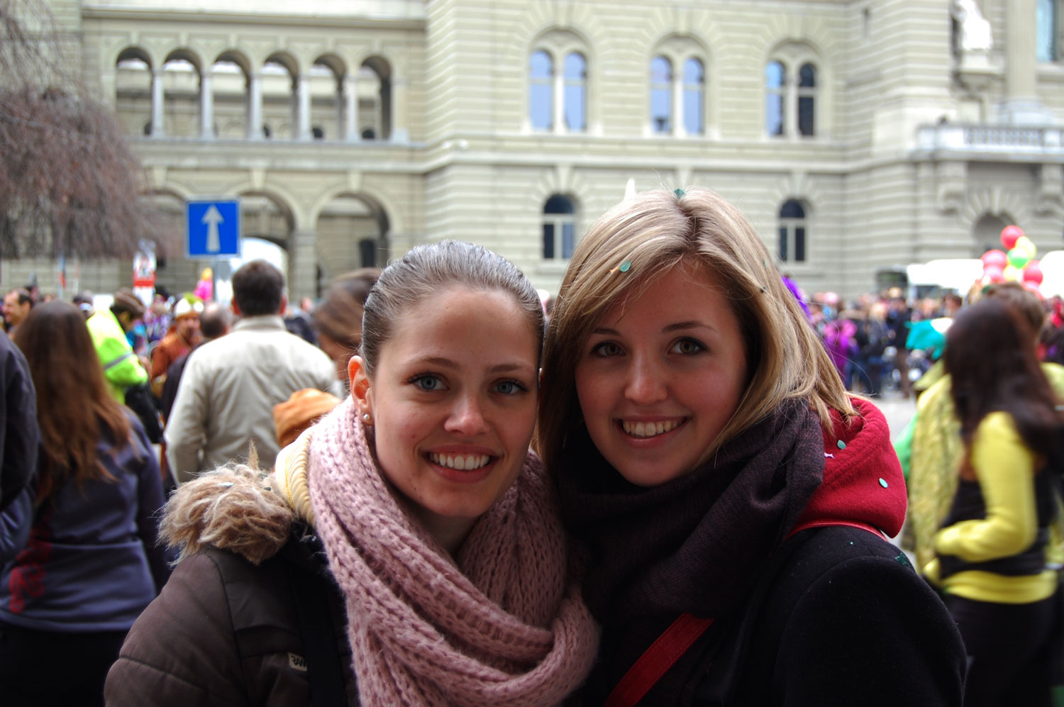 At Carnival with an old friend – Bern, Switzerland